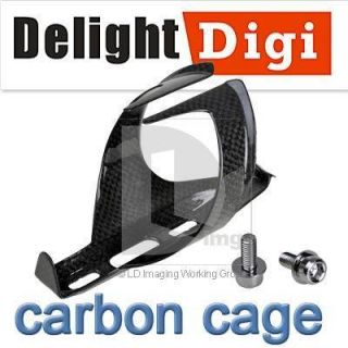 2012 Carbon Fiber Water Bottle Holder Cage Stand Fr Bike Bicycle MTB