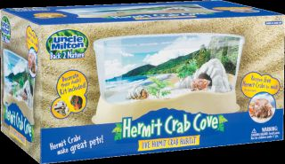 rock hideaway cave real sand guide to hermit crab cove