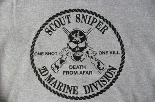 Marine Corps Scout Sniper School Camp Lejeune Hoodie Sweatshirt