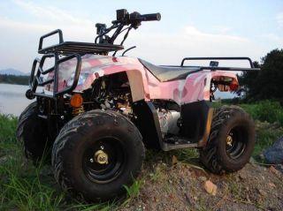 GIOVANNI 110CC ATV 4 STROKE MINI HUMMER PINK CAMO