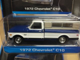 Edition 1972 Chevrolet C10 Pickup Truck with camper Shell