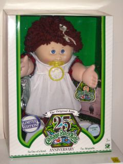 25th Anniversary Cabbage Patch Kids Doll Pacicfer Limited Edition Born