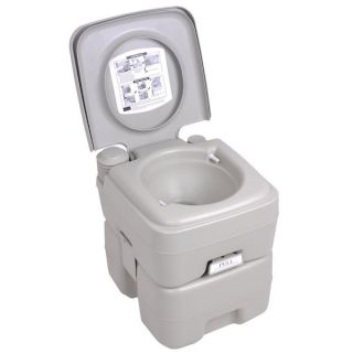 Gal Portable Camp Toilet Camping Flush Potty Dual Spray