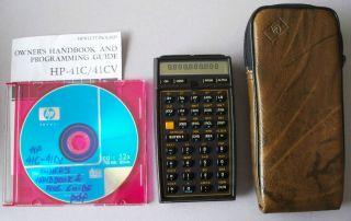 HP 41CV Calculator Case PDF Manual