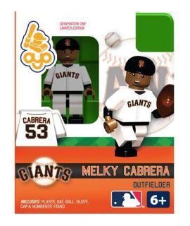 Melky Cabrera Oyo Mini Fig Figure Lego Compatible San Francisco Giants