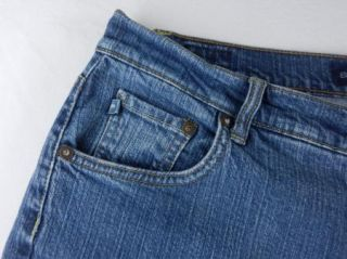Bandolinoblu Cali Modern Boot Cut Stretch Denim Jeans Womens Pant Sz