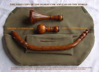 Baroque COR Anglais Oboe Da Caccia