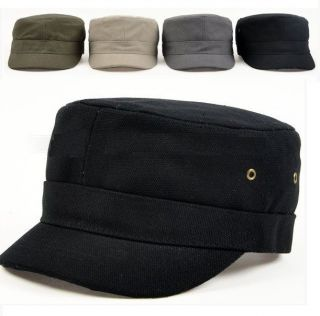 Vintage Army Military Cadet Patrol Cap Caps Hat Hats 4 Colors