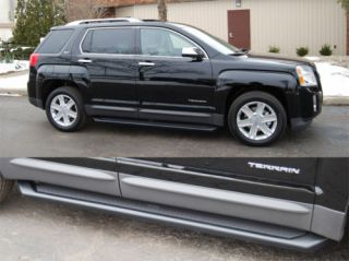 GMC Terrain Running Boards Steps Matte Black 67078 01 10 1109 Trim