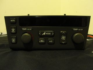 1998 2004 Cadillac Seville STS Dual A C Heater Climate Control Switch