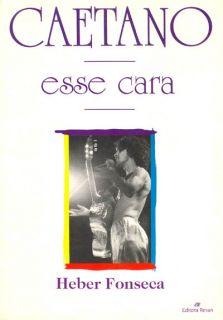 Book Caetano Veloso Esse Cara Tropicalia Bossa Brazil