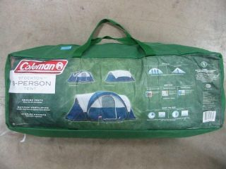 Coleman Stockton 8 Person Outdoor Camping Tent