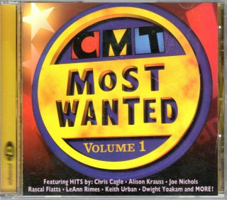 Most Wanted Vol 1 CD Rascal Flatts LeAnn Rimes Keith Urban Chris Cagle