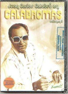 DVD Calabromas Vol 3 SEALED New Juan Carlos Calabro