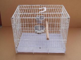 New Large Parrot Bird Travel Carrier Cage 9204