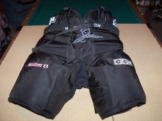 CCM 620 Senior Pro Goalie Pants Hockey Gear XXL SR Blk