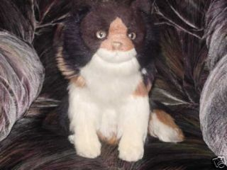 13 Avanti Calico Plush Cat Toy Jockline Italy 1983