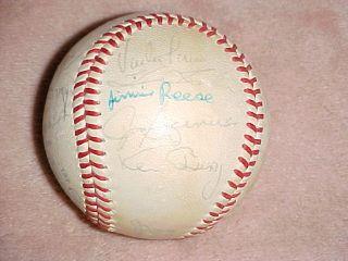 1973 California Angels MLB Major League Team Autographed Baseball