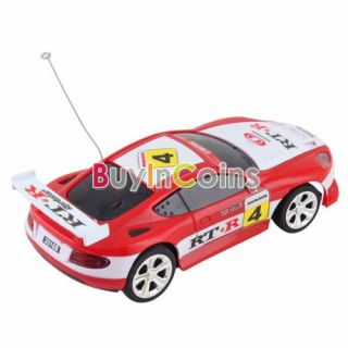 New Can Mini RC Radio Remote Control Micro Racing Vehicles Car Toy