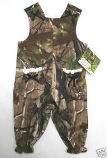 Realtree APG Camo Girls Overalls or Romper Choose Size