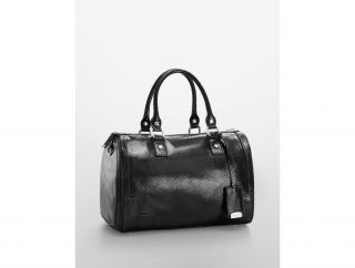 Calvin Klein Womens Faux Snakeskin Leather Satchel Handbags