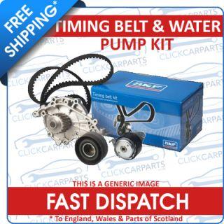 Peugeot 207 WA WC KFU ET3J4 1 4 16V 06 Timing Cam Belt Water Pump Kit