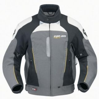 Can Am Mens Caliber Motorcycle Riding Jacket Medium M