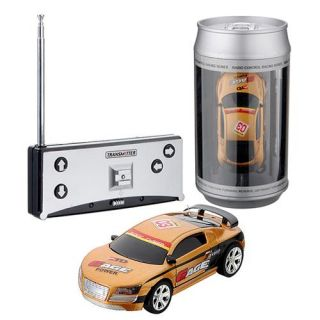 Coke Can Mini RC Radio Remote Control Micro Racing Car