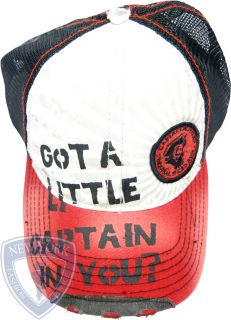 Captain Morgan Rum Trucker Cap Mesh Baseball Hat