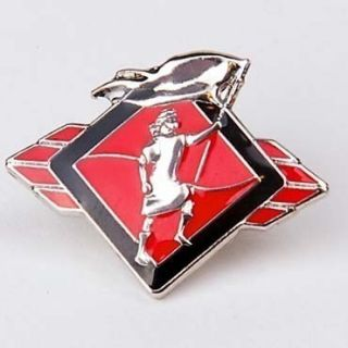 Pin Tie Tack Captain Moroni Red LDS CTR Mormon Missionary Baptism