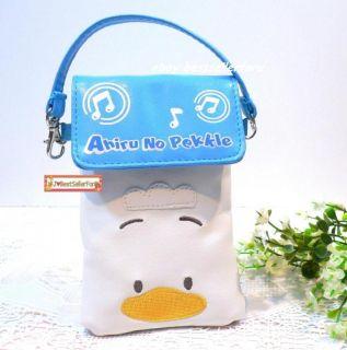 Ahiru No Pekkle Duck iPhone 4S 5 Digital Camera Pouch Case Hand Bag