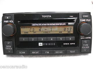 06 07 08 09 Toyota 4Runner JBL Synthesis Radio Stereo 6 Disc Changer