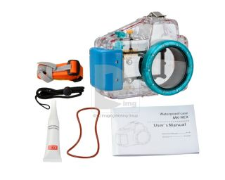 Meike 40M Waterproof Underwater Camera Housing Case for Sony NEX5N NEX