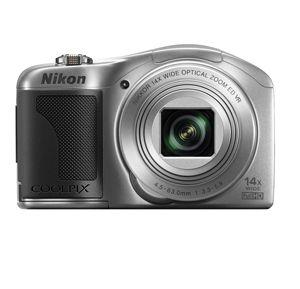 Nikon Coolpix L610 Digital Camera Silver 14x Zoom Nikon USA Warranty