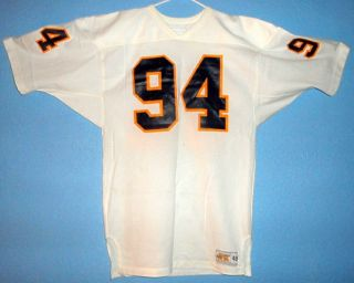California Golden Bears Cal Game Worn Football Road Jersey 94 Early