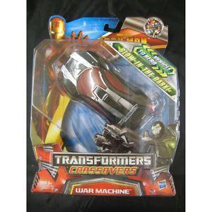 Transformers Crossovers Race Car War Machine RARE