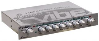 Lanzar VIBE740V Vibe Half DIN In Dash 7 Band Rotary Pre Amp Equalizer