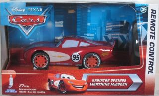 Disney Pixar Cars RC Radiator Springs Lightning McQueen Radio Remote