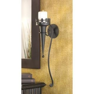 Gothic Candle Sconce Interior Wall Hanging Lamp Light Home Decor