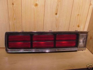 CHEVY CAPRICE 86 90 TAIL LIGHT ASSEMBLY, DRIVER