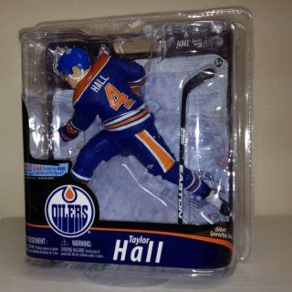 McFARLANE TAYLOR HALL NHL 28 BLUE JERSEY ROOKIE EDMONTON OILERS