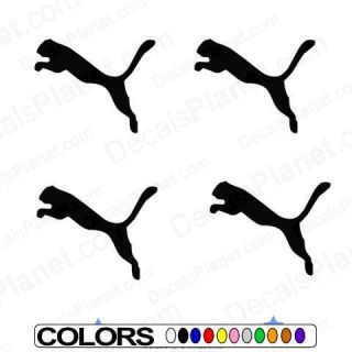 Puma Soccer Stickers Lot Car Vinyl Decal Sticker