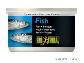 Exo Terra Reptile Canned Whole Fish Turtle Food 1 2oz