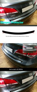 Car Bumper Protector Exterior Anti Srcatch UV Decal 1ea for Hyundai