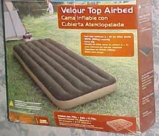 Ozark Trail Air Mattress Twin Size Camping Sleep Over 3511