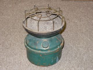 Vintage Single Burner Camp Stove for Parts or Decoration