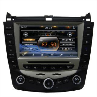 2003 07 Honda Accord Car GPS Navigation Radio ATSC TV Bluetooth