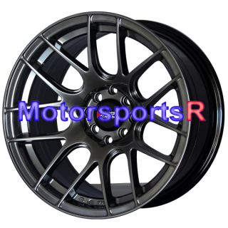 16 16x8 XXR 530 Chromium Black Concave Rims Wheels 85 Toyota Celica