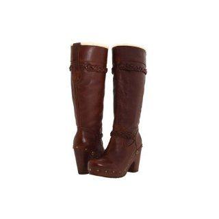 UGG Australia Savanna Chocolate   Womens Sheepskin Boots