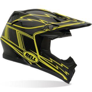 Bell Moto 9 Carbon Hurricane Off Road Motorcycle Helmet